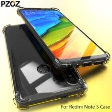 PZOZ redmi note 5 pro чехол силиконовый прозрачный чехол для телефона мягкий prime xiaomi redmi note 5 Чехол xiomi xaomi 64gb note5 4g