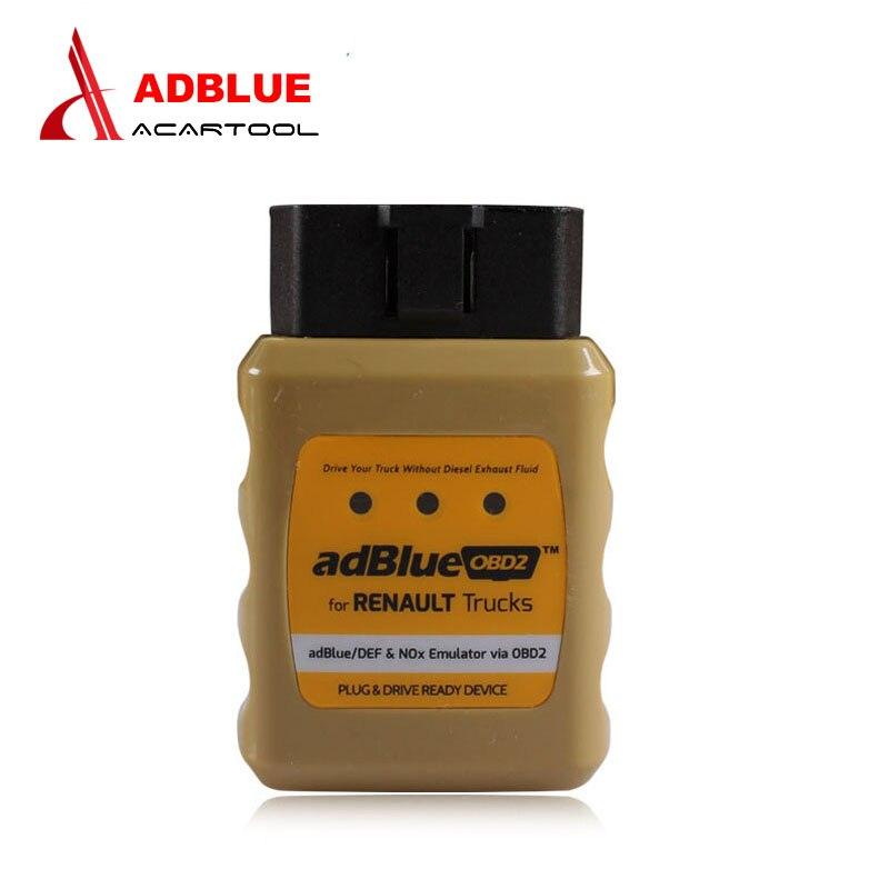 Prix pour Nouvelle Arrivée Camion AdblueOBD2 Émulateur pour RENAULT adblue/DEF Nox Émulateur via OBD2 Adblue OBD2 pour Renault Camion Adblue émulateur
