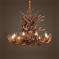 Antler Chandelier Vintage Style Resin Deer Horn Antler Chandelier 8 Lights Bulbs Included Antler Mule