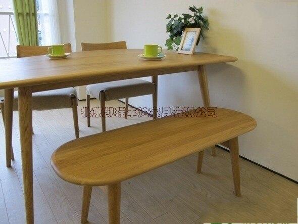 Madera maciza muebles de comedor taburete banco comidas simple y con ...