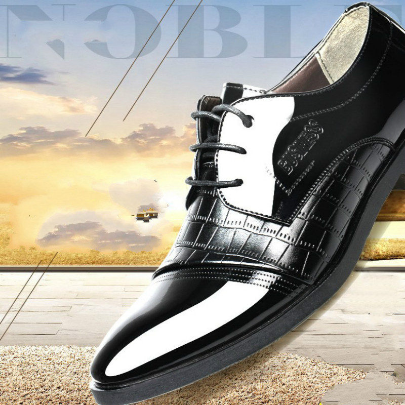 Formal Shoes 2018 New Fashion Style Designer Formal Mens Dress Shoes Genuine Leather Luxury Wedding Shoes Men Flats Office Shoes Lc2020 Customers First