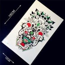 1 ШТ. Cool 3d Браслет Временные Татуировки Наклейки Для Мужчин HZ21 поддельные Водонепроницаемый Татуировки Паста Нижний Рычаг Татуировки на Груди Плечо назад