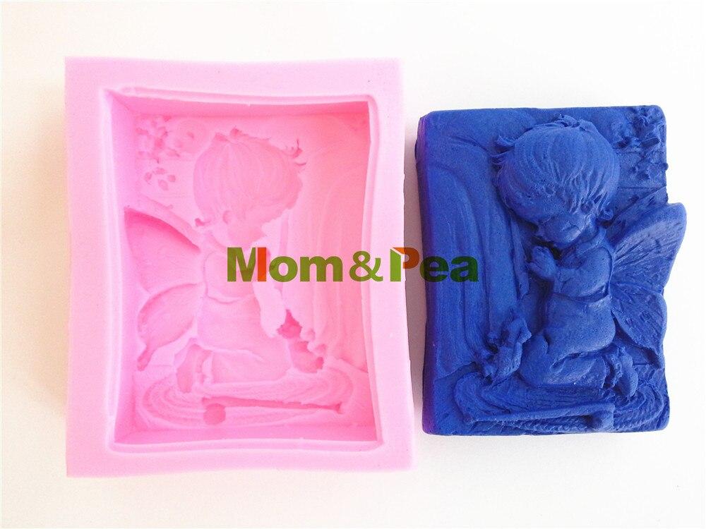 Мама и гороха 0345 бесплатная доставка мальчик силиконовые формы торт украшение Фондант торт 3D формы Еда Класс силиконовые формы
