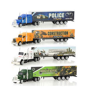 1 Pcs Sliding Alloy Truck Model Diecast Car Toy Container Oil Truck Tank Multi-color Vehicles Toys Birthday Gift for Children