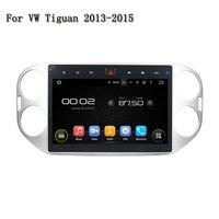 10.1 дюйм(ов) автомобильный DVD для VW Tiguan 2013 2015 полный сенсорный экран deckless Andriod Системы 5.1 4 Core Rockchip Px3 cortex A9 может bus
