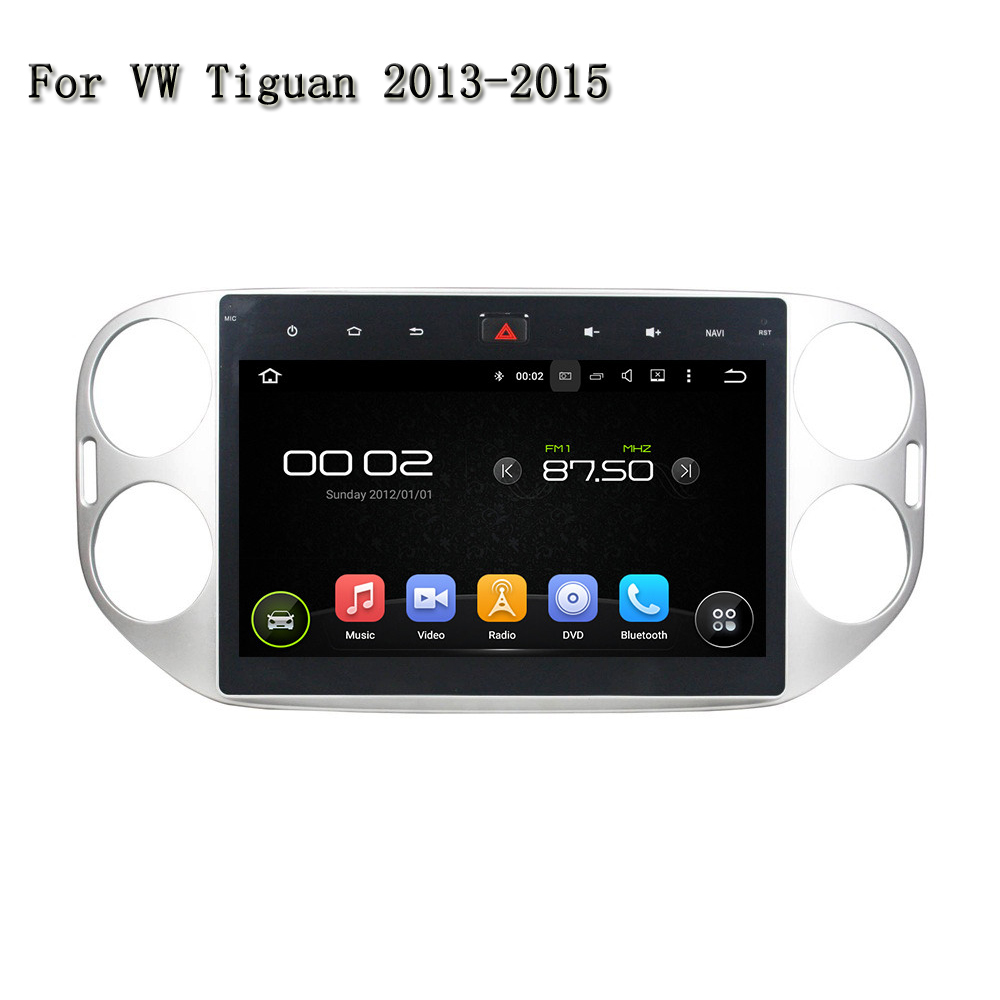 10.1 Inches Car DVD For VW Tiguan 2013-2015 Full Touchscreen Deckless Andriod System 5.1 ...