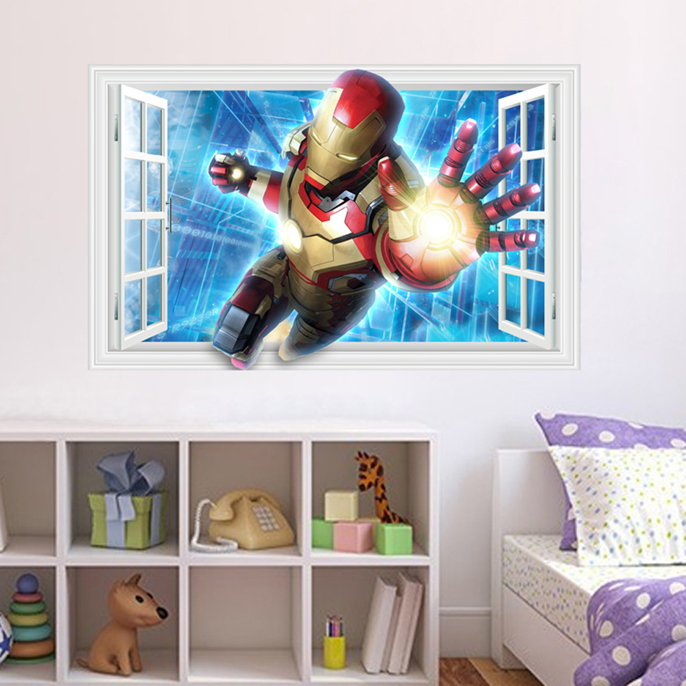 Online Get Cheap Iron Man Bedroom Aliexpresscom Alibaba Group