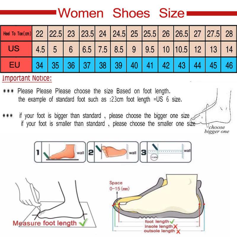 ผู้หญิง PLUS ขนาด Wedges รองเท้าผู้หญิงรองเท้าส้นสูงรองเท้าแตะรองเท้าแตะรองเท้าฤดูร้อนรองเท้าแตะ 2019 Flip Flop Chaussures Femme แพลตฟอร์มรองเท้าแตะ