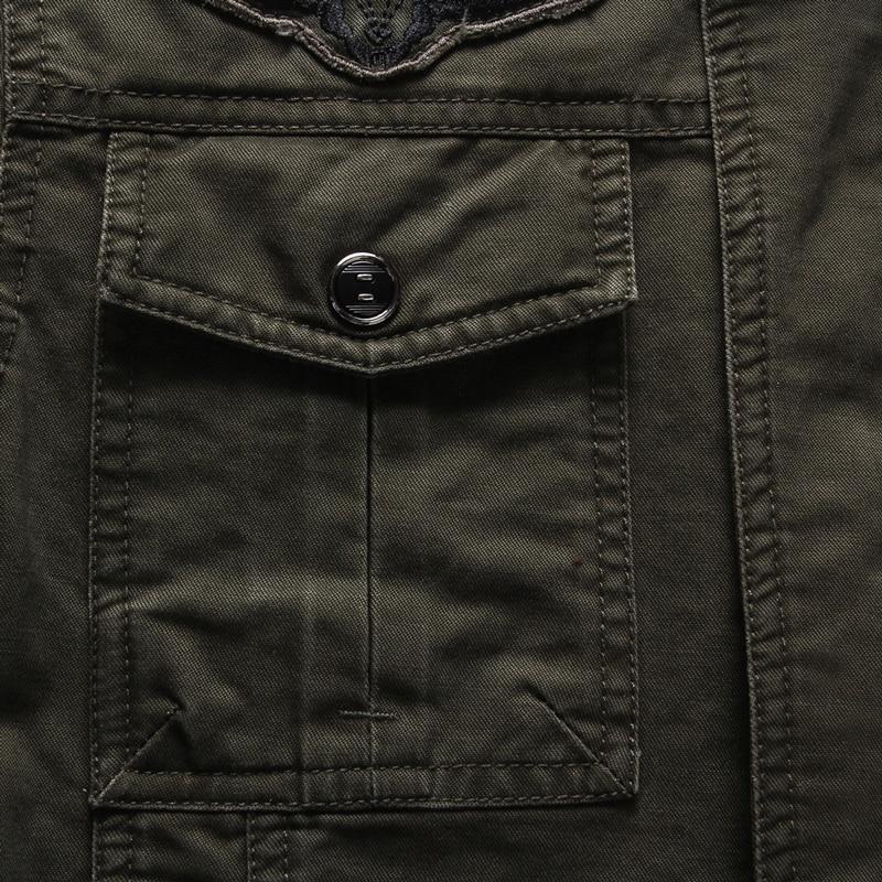 Military Jacket Men Military Style jakid meestele Meeste armee jakid - Meeste riided - Foto 4