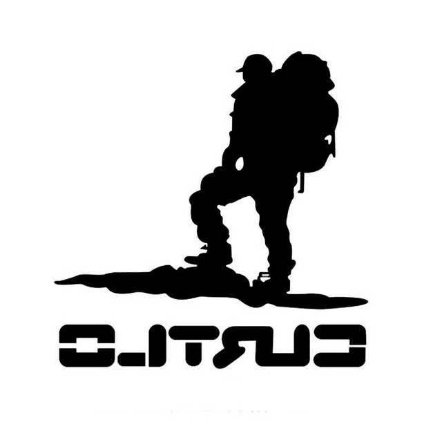 Travelers climbers off road vehicle stickers car stickers decals suv off road people black