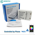 RGB/WW/CW WIFI  LED Controller DC12-24V IOS Android Smart Link Timer Music control for led strip lights  home decoration
