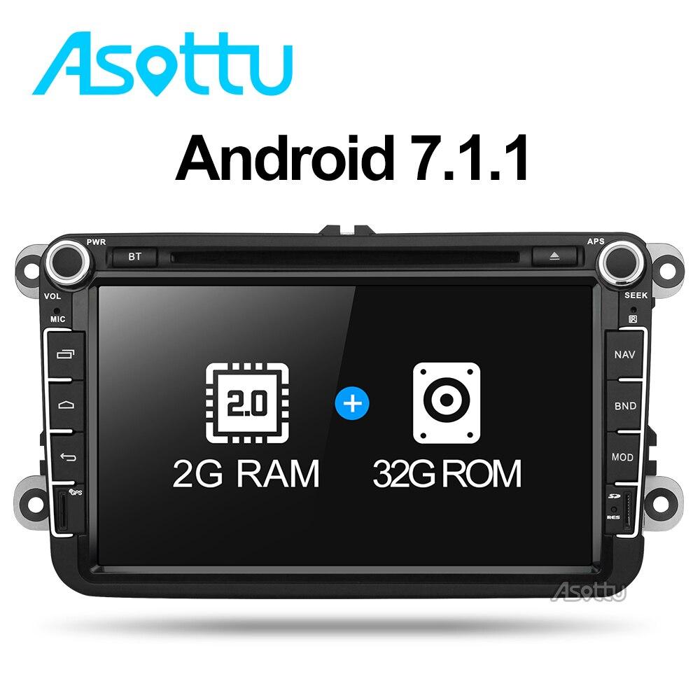 Android 7.1 quad core 32 ГБ 1024*600 dvd-плеер автомобиля для skoda VW ПОЛО GOLF 5 6 PASSAT CC JETTA TIGUAN TOURAN Caddy Fabia автомобиля dvd