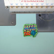 Custom Name Tag Embroidered Patch Sew or Iron on Clothing and Hats Any Fonts and Sizes are Available Patch недорого