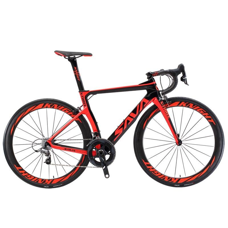 Vélo de route en carbone SAVA vélo de route en carbone vélo de course 22 vitesses cadre en carbone complet avec groupes SHIMANO ULTEGRA UT R8000