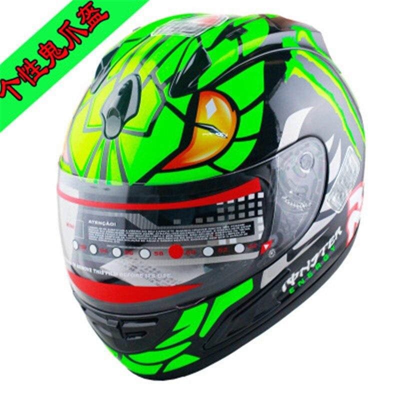 ФОТО New arrival brand Malushun motorcycle helmet Jorge Lorenzo full face helmet Kart racing helmet moto casco motociclistas capacete