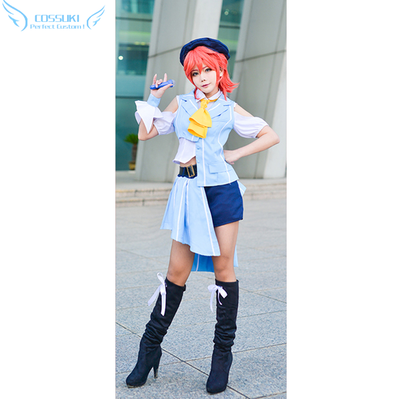 MacrossSeries Macross Delta Kaname Buccaneer Cosplay Costume Perfect Custom For You