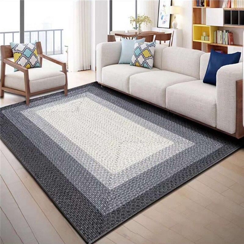 High Quality Weaving Art Carpet For Living Room Bedroom Anti-slip Floor Mat Fashion Kitchen Carpet Area Rugs