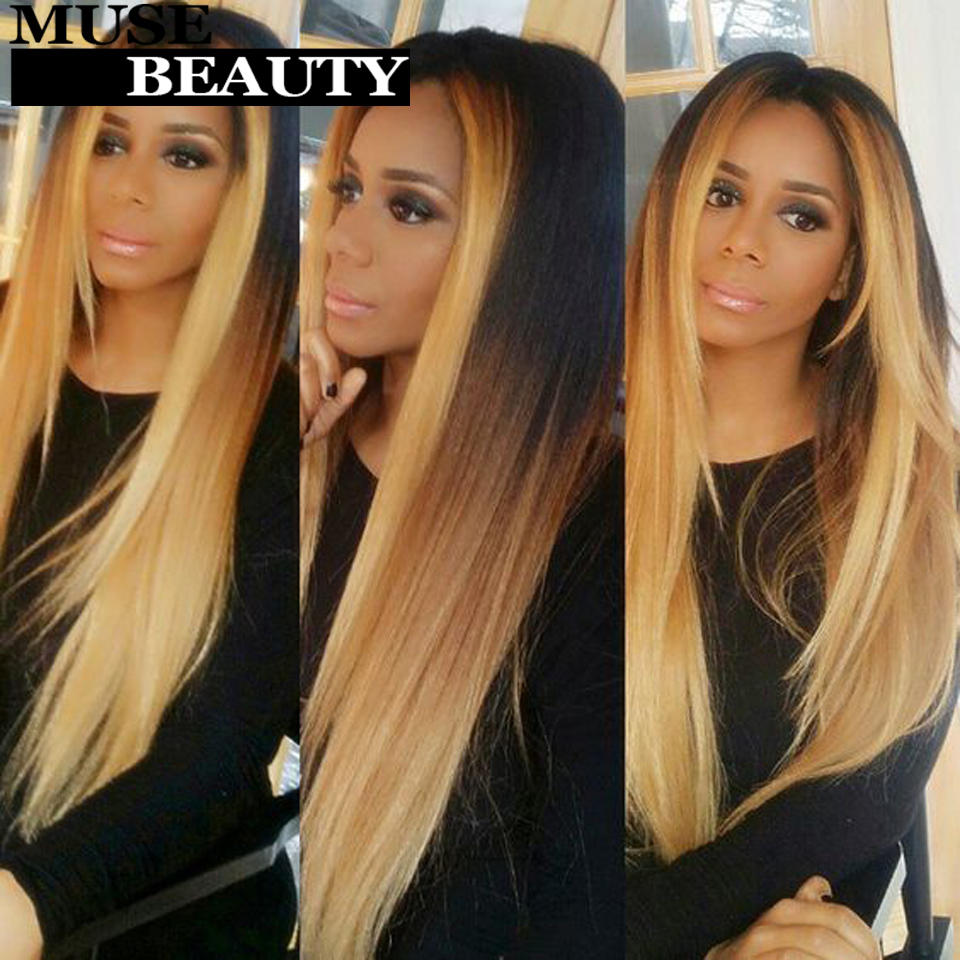 Queen Brazilian 1b 27 Ombre Virgin Hair Straight 10a Ombre