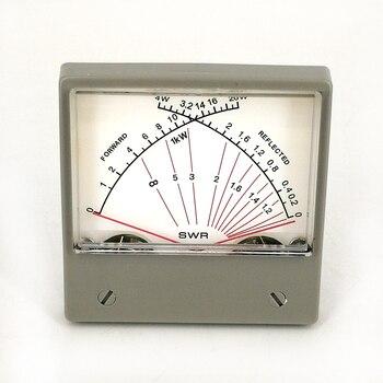 Панель VU/Forwad 100uA измеритель КСВ SZ-70-1 4 Вт 20 Вт двойной измеритель