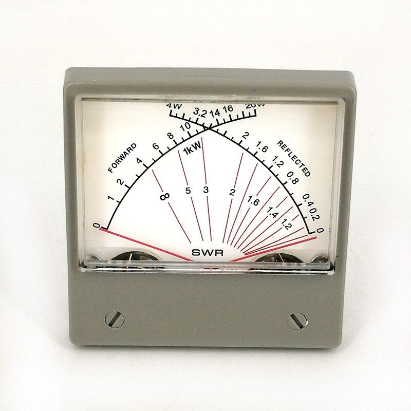 Panneau VU/Forwad 100uA mètre SWR SZ-70-1 4W 20W double mètre réfléchi