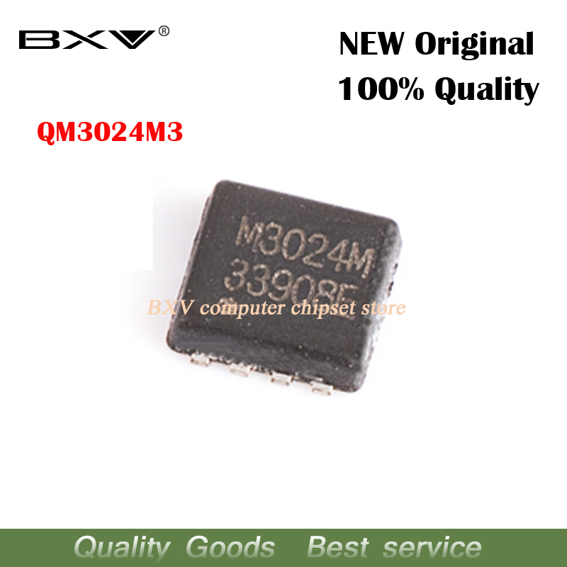 5pcs QM3024M3 QM3024M M3024M 3MM*3MM MOSFET QFN-8