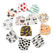 Hot New Fashion Kids Baby Hats Print Cotton Child Boys & Girls Caps Spring Autumn Beanies Infant Toddler Newborn Hats 0-3 Years(China)
