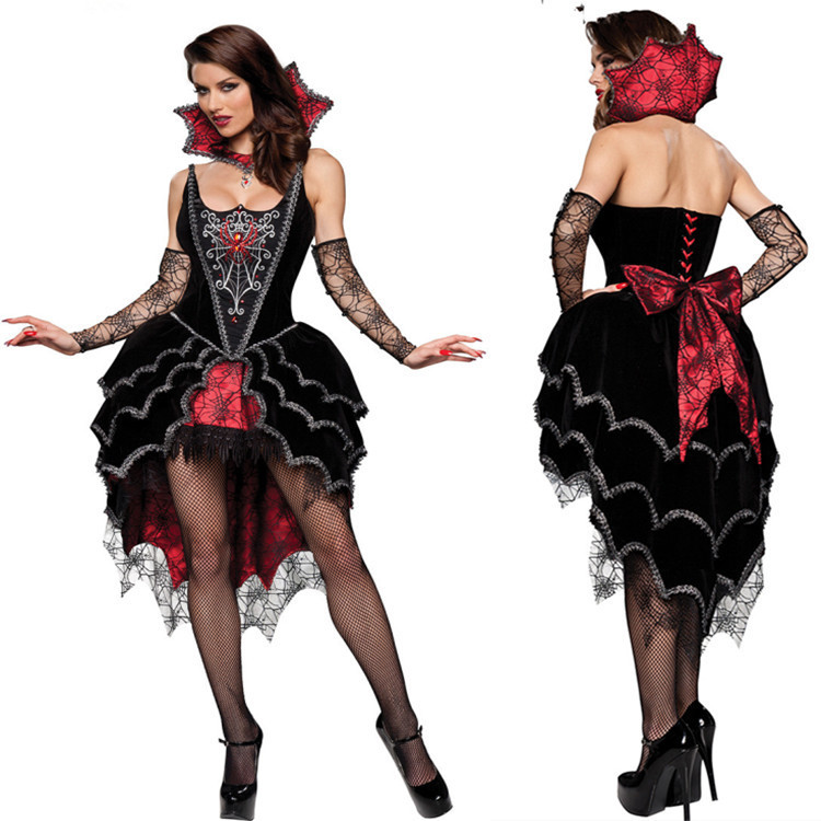 sexy halloween costumes for women luxury vampire costumes queen sexy devil masquerade cosplay costumes victorian period costumes - Halloween Costumes Victorian
