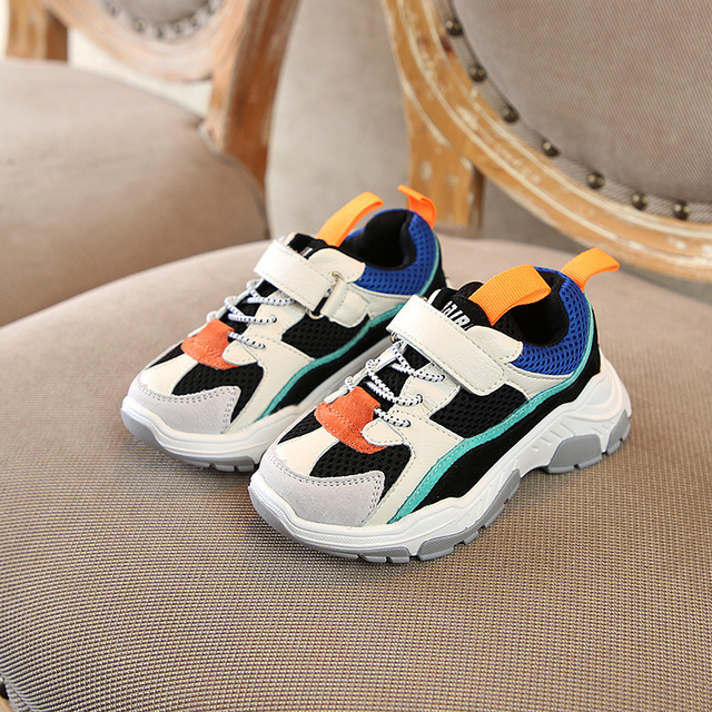 Autumn 2018 Girls Boys Hot Fashion Sneakers Baby/Toddler/Little/Big Kid Brand School Sports Trainers Children Casual Game Shoes