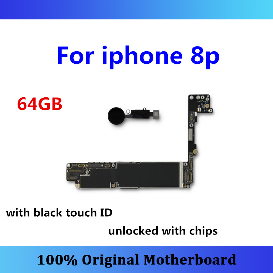 Updated IOS logic board for iphone 8p 8 plus motherboard