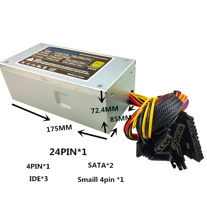 Купить с кэшбэком 400W PC Power Supply 400W TFX Power for PC 400W TFX12V 2.31 PSU For MINI Desktop Cash Register Small Chassis Power Supply