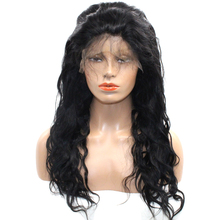DLME Body Wave Bleached Knots Brazilian Hair Wigs For Black Women Lace Front Wig with Baby Hair Lace High Temperature Hairs