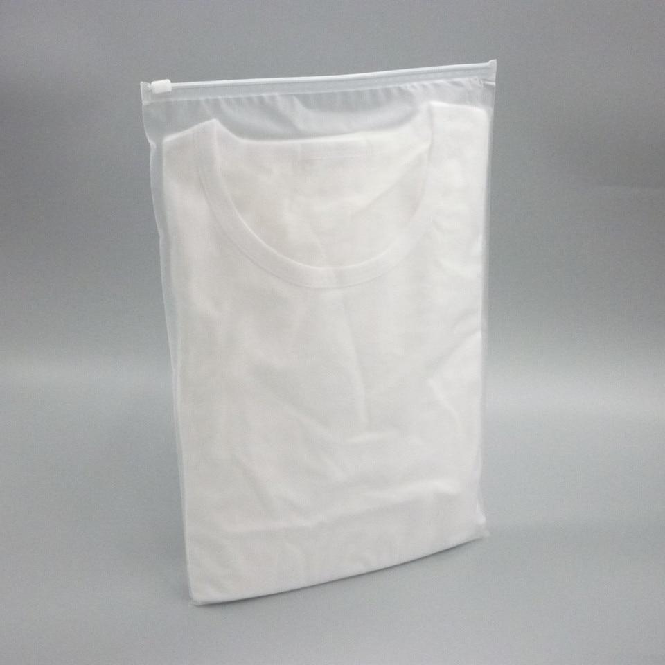 100pcs Multi size Thick Plastic Bags Packing Zip Lock Zipper Bags White Block