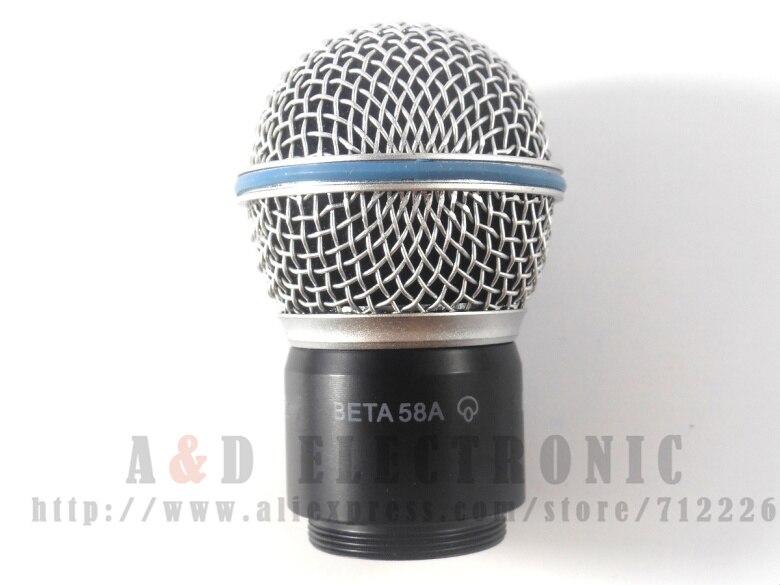 1 Pcs Neue Ersatz Ball Kopf Mesh Mikrofon Grille Mit Kapsel Für Shure Sm58 Sm58s Sm58lc Beta58 Beta58a Beta Pgx24 Slx24