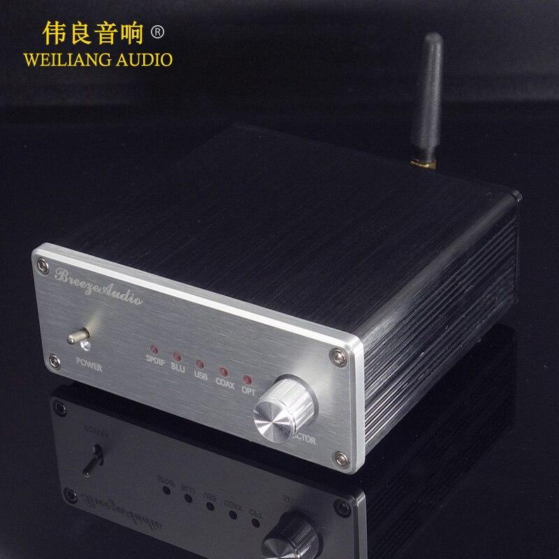 SU4 HIFI AK4490 AK4493 XMOS XU208 Bluetooth 5 0 USB decoder DAC