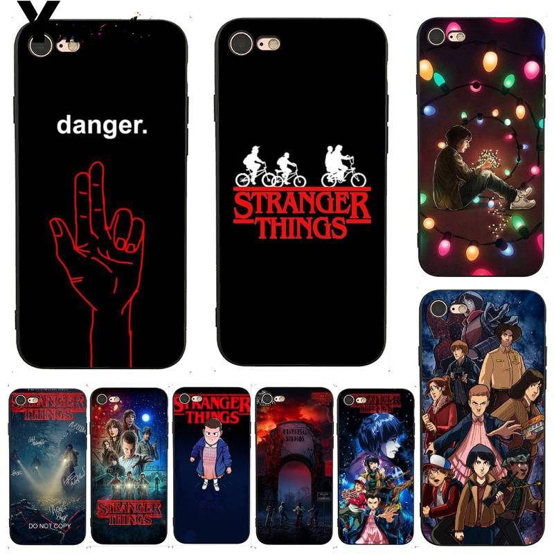 reputable site a28b3 6a3a9 For Iphone 7 6 X Case Stranger Things Christmas Lights Better Phone Case  For Iphone 7 X 6 6S 8 Plus 5 5S SE XS XR XSMAX