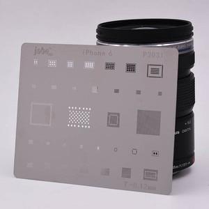 Image 5 - 12 قطعة IC إصلاح بغا إعادة صياغة Reball rebيعادل الإستنسل مجموعة آيفون X 8 Plus 8 7 6 6S 5s 4s قالب إصلاح أدوات التدفئة المباشرة