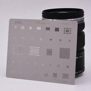 Image 5 - 12pcs IC Repair BGA Rework Reball Reballing Stencils Set for iPhone X 8 Plus 8 7 6 6S 5S 4S Template Repair Direct Heating Tools