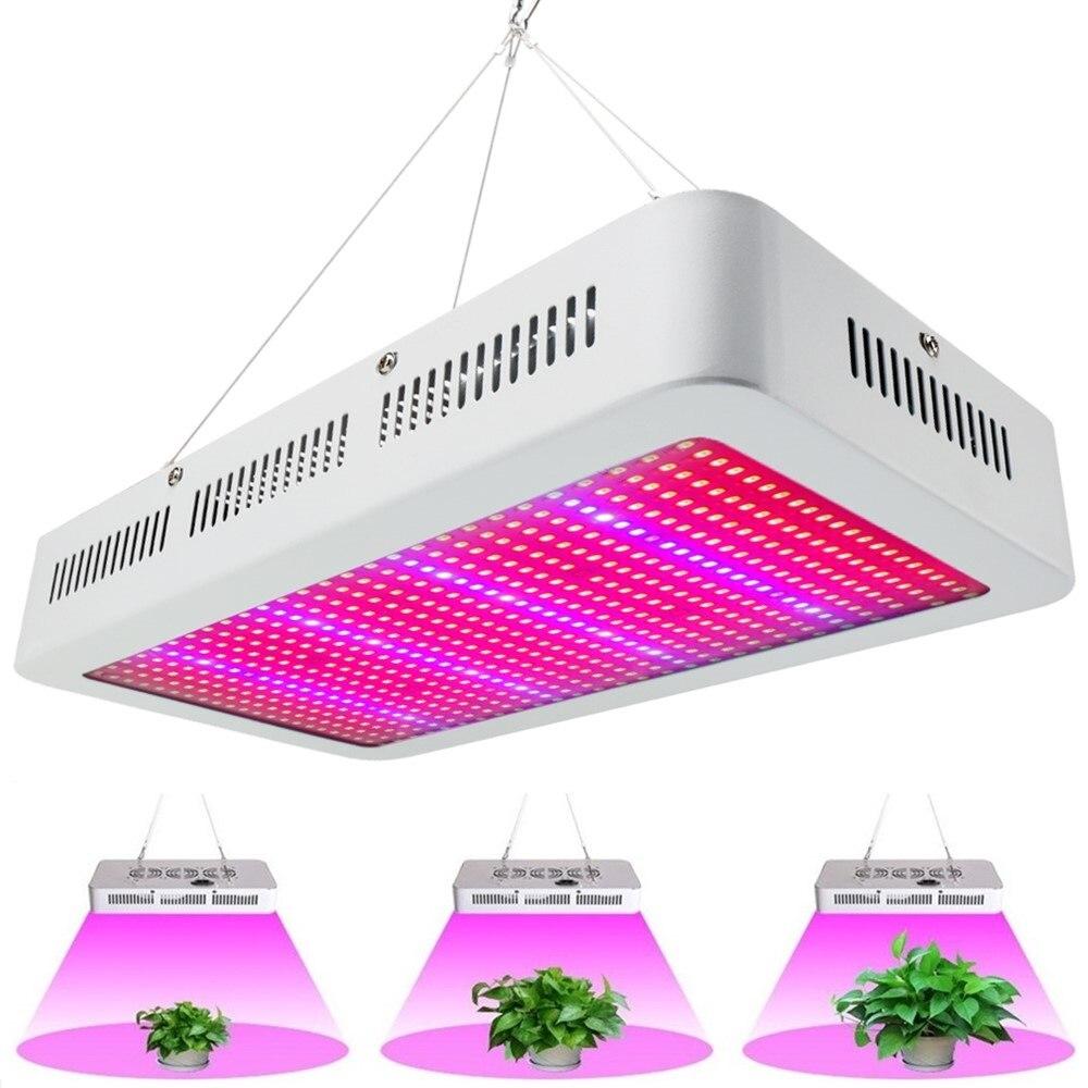 Полный спектр 600 Вт светодио дный светать красный/синий/белый/UV/IR AC85 ~ 265 В SMD5730 светодио дный завод лампы best для роста и цветения оптовая прода...