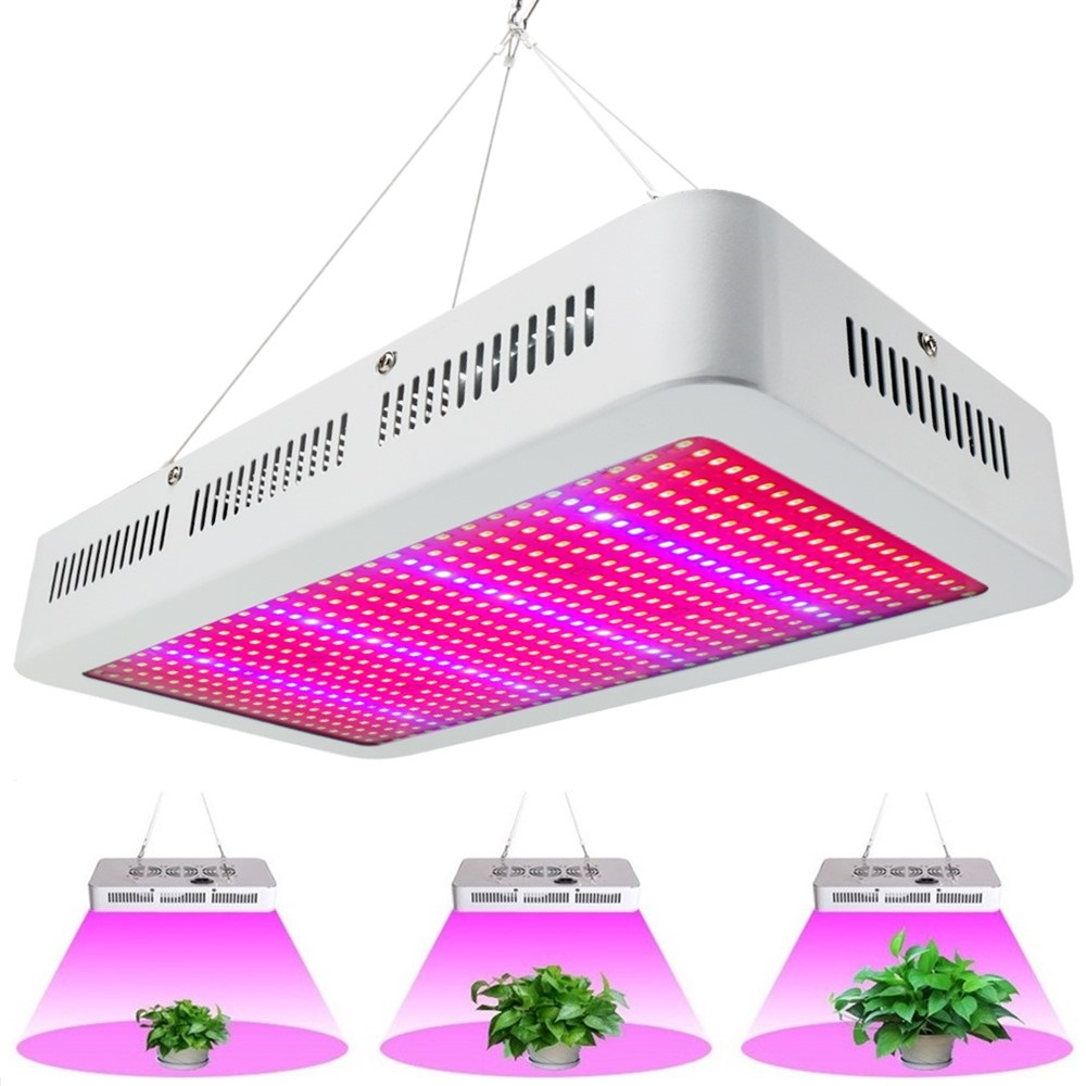 Full Spectrum 600W LED Grow Light Red/Blue/White/UV/IR AC85~265V SMD5730 Led Plant Lamp Best For Growing and Flowering Wholesale full spectrum double chips 10w epistar 36led ac85 265v red blue warm white white ir uv led grow lights lamp for hydroponic plant