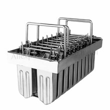 Moulds Popsicle Commercial DIY Ce 2--10 304-Stainless-Steel Ice-Cream-Molds Brand-New