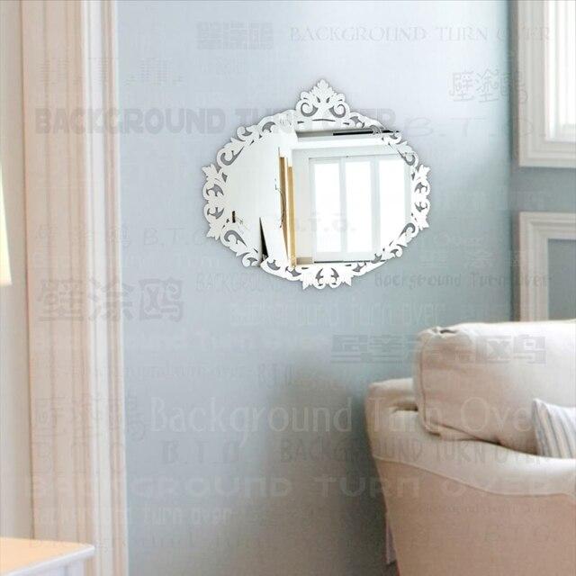 Europejski Styl Owalny Kształt 3mm Grubości 3d Akrylowe ściany