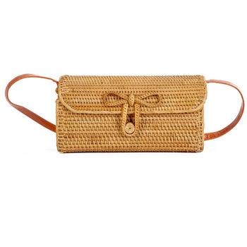 Handmade Rattan Bag for Summer