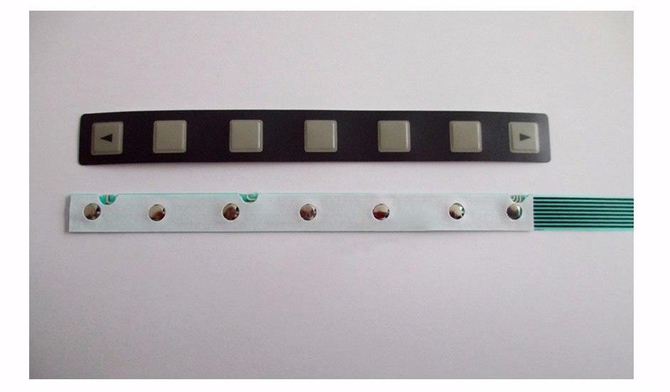 A98L-0001-0252 Membrane Keypad for FUNUC panel repair (7 keys), New in stock.