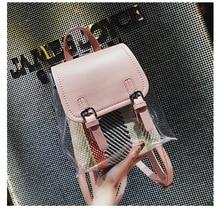 Hot Sell Black Transparent Shoulder Pure Color Bag Jelly Candy Beach Handbag Messeng GW19