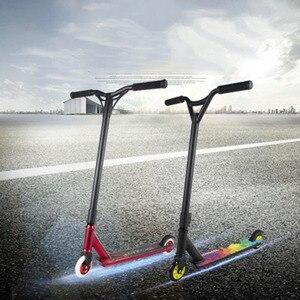 Профессиональный самокат-трюк, фристайл, уличный самокат для серфинга, трик, скейтпарк, BMX, руль, профессиональный самокат для экстремальных видов спорта