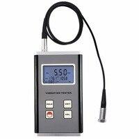 디지털 진동 측정기 압전 변환기 센서 변위 속도 가속 테스터 10 hz ~ 10 khz 범위