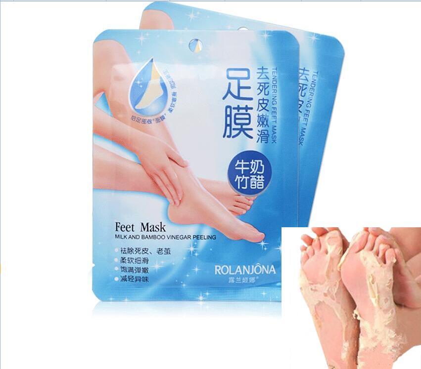 Hot SaleFoot Mask Removes Calluses To Reveal Baby Feet Peeling Mask Heel Foot Care Socks For Pedicure Sosu Socks Foot Cream