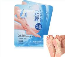 Hot saleFoot Mask Removes Calluses To Reveal Baby Feet Peeling Heel Foot Care Socks For Pedicure Sosu Cream