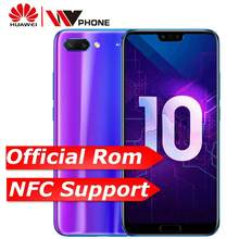 huawe Honor 10 honor10 19:9 Full Screen 5.84 inch AI Camera 24.0MP Mobile Phone Octa Core Fingerprint ID NFC android 8.1(China)