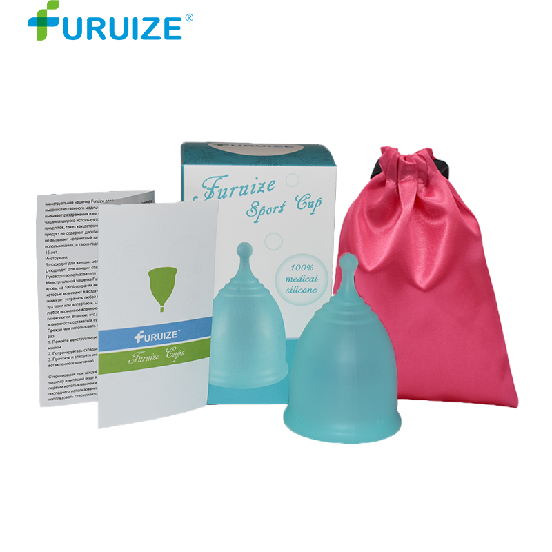 Menstrual Cup Menstruation Copo Feminine Hygiene by Carton box Cloth Bag Pack Lady Cup More Soft sport Copa menstrual women cup